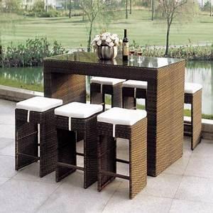 Rattan Bar Set : rattan furniture outdoor 2018 home comforts ~ Indierocktalk.com Haus und Dekorationen