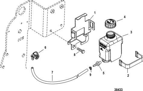 mercruiser  stroker scorpion bravo gear lube monitor parts