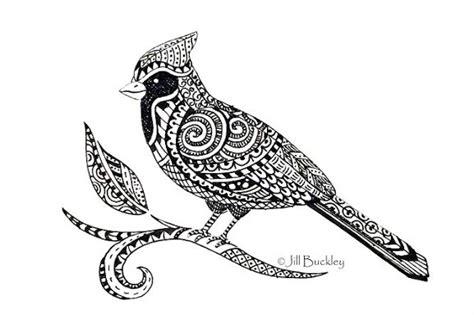 beautiful doodles zentangles zentangle birds