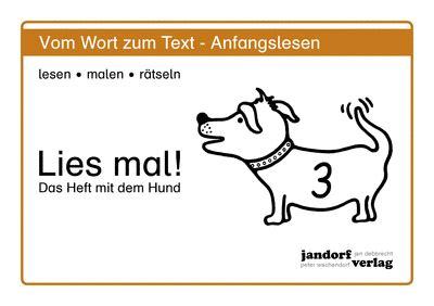 lies mal 8 lies mal heft 3 jandorfverlag