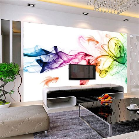 buy custom photo wallpaper modern  wall