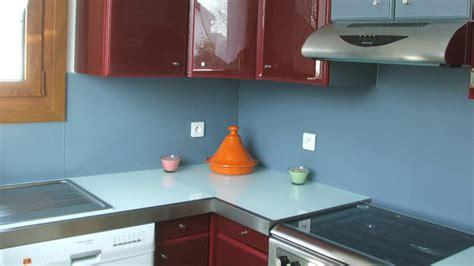 plaque pour cuisine rhabiller sa cuisine en plaques de verre