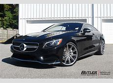 Mercedes S550 Coupe on Custom Vossen VPS307 Forged Wheels