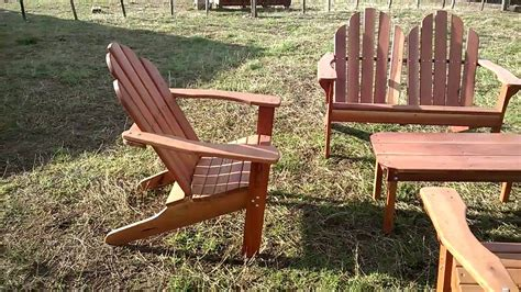 sillones madera  jardin youtube