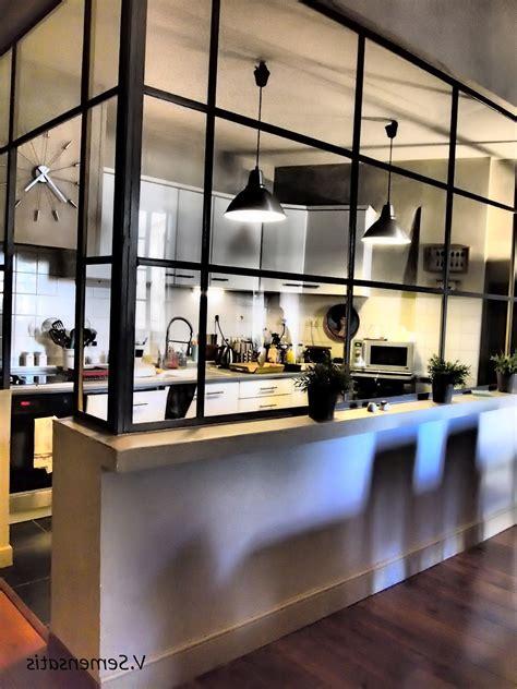 p駻鈩e cuisine 391051 cuisine moderne cuisine ouverte avec verriere jpg 845 567 décoration