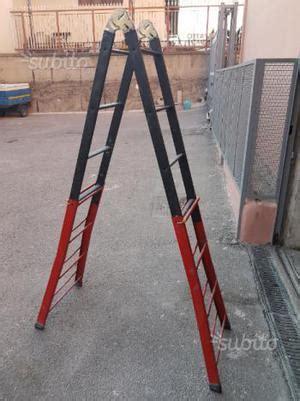 scala estensibile da soffitta scala telescopica in acciaio gradini posot class