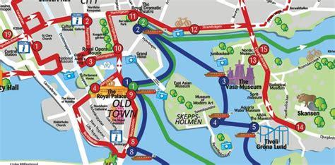 Sehenswürdigkeiten Stockholm Karte