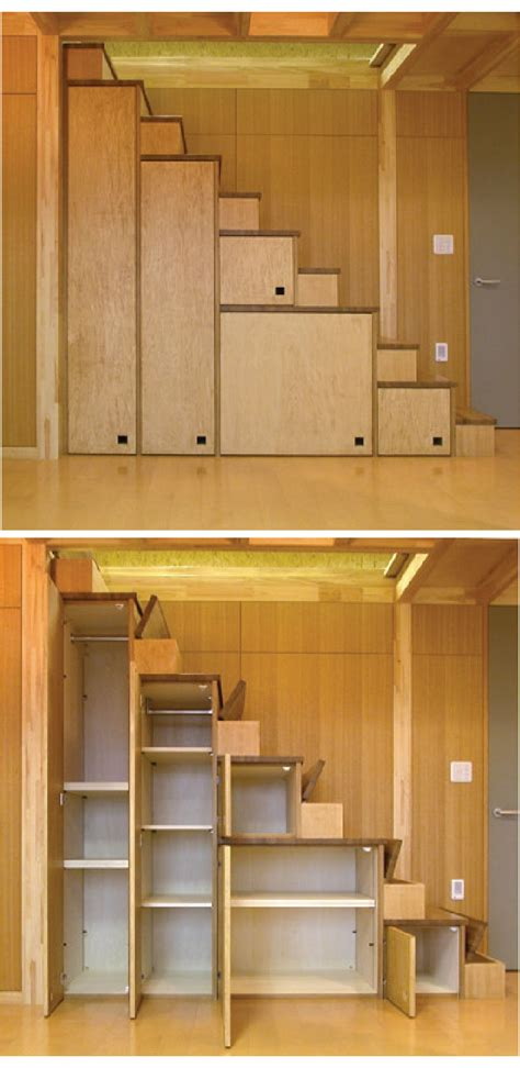 tiny house furniture fridays  staircase storage beds desks