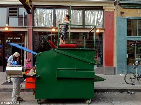 How designer Gregory Kloehn converted a DUMPSTER into a