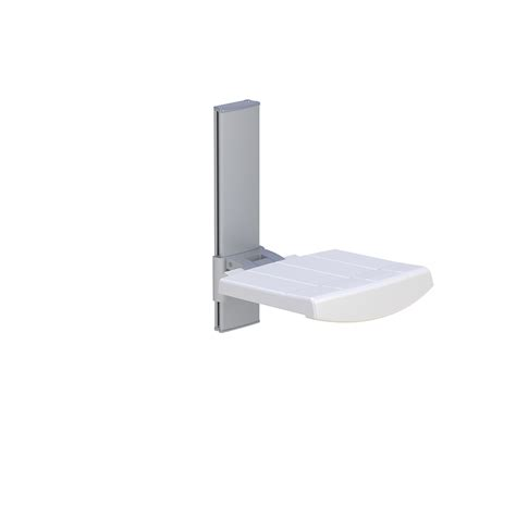 seating wall height wall mounted shower seat height adjustable profilo
