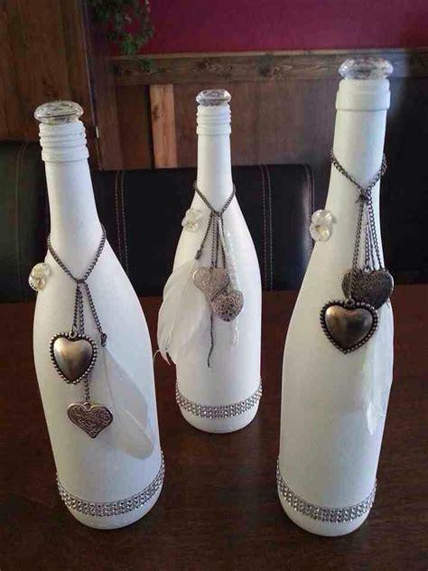 Decorative Wine Bottles For by Gesso En Wijnflessen Vaas Empty Wine