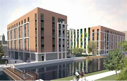 Student Housing Collegelands Glasgow Block Proposals Expansion
