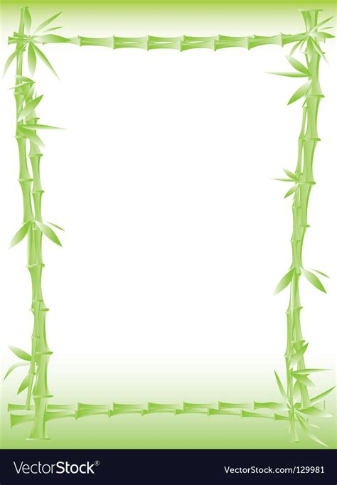 bamboo cartoon border