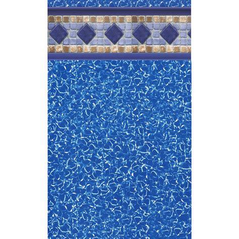 tile sarasota swimline sarasota tile 18 ft x 33 ft oval unibead pool liner 54 in deep nl501161 the home depot