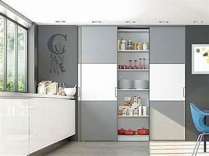 portes de placard coulissantes de cuisine sur mesure With image de placard de cuisine