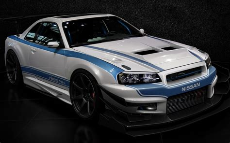 cars design tuning tuned nissan skyline  gt  wallpaper
