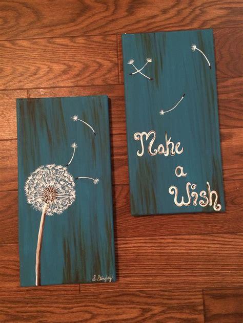 dandelion    canvases multiple