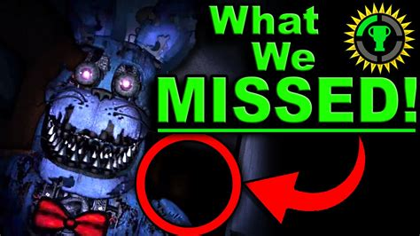 Game Theory Fnaf Game Theory Fnaf The Clue That Solves Five Nights At