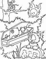 Neopets Drsloth Graveyard Fireball Coloringpages101 sketch template
