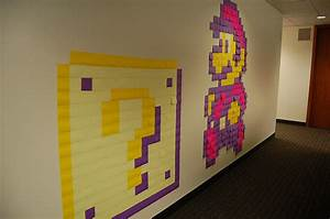 Post It Art : teen art exhibitions sticky note art ~ Frokenaadalensverden.com Haus und Dekorationen