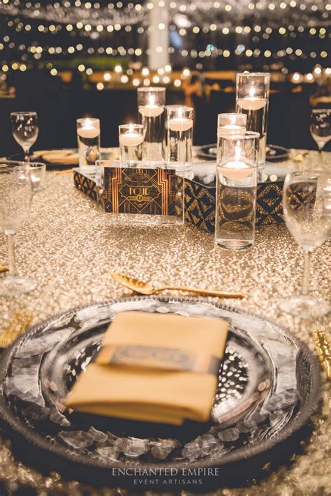 Great Gatsby Wedding styling by Enchanted Empire Event