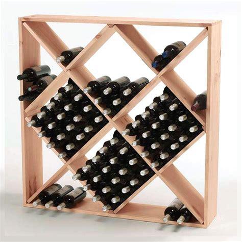 wine enthusiast  bottle natural floor wine rack