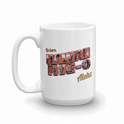Hawaii Five Aloha Mug Oz Trek Cbs
