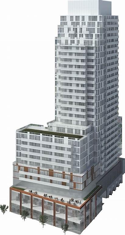 Building Whitehaus Street Podium Level