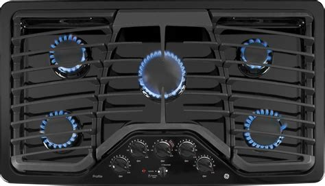 pgpdetbb ge profile series  built  gas cooktop black