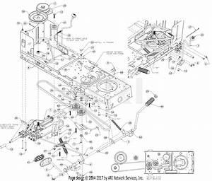 Troy Bilt 13wx78bs011 Bronco  2017  Parts Diagram For Drive