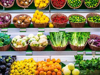 Produce Grocery Stores Aisle Sections Attractive Section