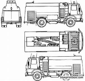 Chevrolet Fire Truck 1985 Plans