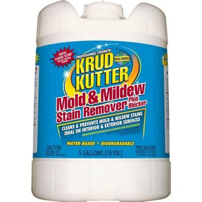 krud kutter 5 gal mold and mildew stain remover plus