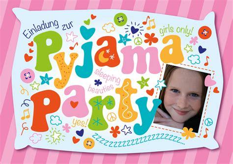 einladung zur pyjama party einladungen auf einladungcom