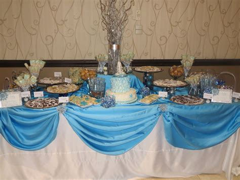 Winter Themed Baby Shower - winter themed baby shower luxe event linen