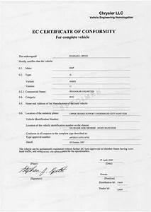 Certificat De Conformité Mercedes : certificat de conformit jeep coc jeep france my ~ Gottalentnigeria.com Avis de Voitures