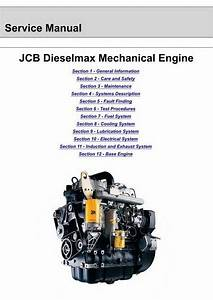 Jcb Dieselmax Mechanical Engine Service Manual  3000