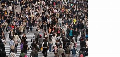 Lot Japan Person Crowd Screen Lots Clipart