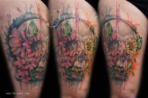 artist creates stunning freehand tattoos   spot