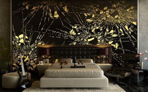 chambre noir et or déco chambre adulte 57 idées fascinantes à emprunter