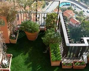 Aménagement Terrasse Appartement : am nagement balcon terrasse appartement ~ Melissatoandfro.com Idées de Décoration