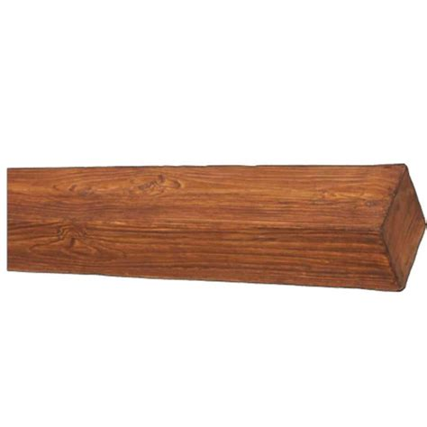 home depot wood superior building supplies stb 20 8 in x 6 in x 16 ft faux wood beam stb 20 the home depot