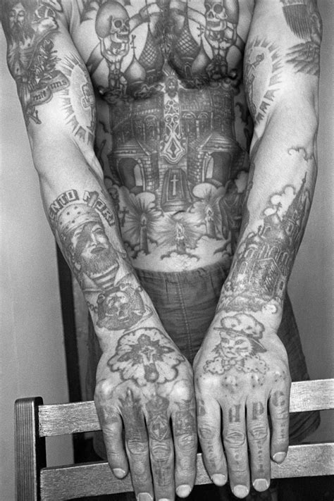 Decoding the hidden meaning behind Russian prison tattoos