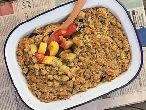 Recette Crumble Salé : crumble sal flo ons d 39 avoine carr frais courgettes ~ Melissatoandfro.com Idées de Décoration