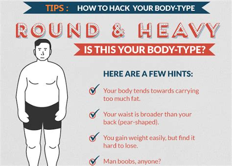 How To Hack Your Body Type [infographic]