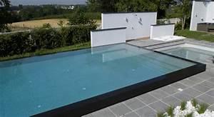 Piscine A Enterrer : piscine a enterrer latest piscine semi enterree beton ~ Zukunftsfamilie.com Idées de Décoration