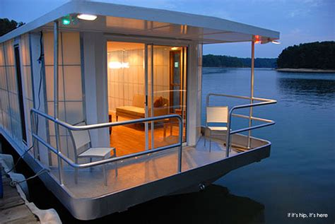 Houseboats Designs by The Metroship A Modern Luxury Houseboat For 250k If