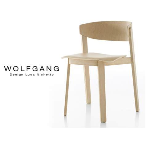 Chaises Design Bois by Chaise Design Bois Wolfgang Structure Bois De Ch 234 Ne