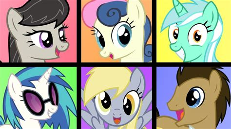 mlp pony background characters generation cast equestria movie 2021 confirmed poll results september stuff