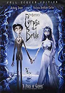 amazoncom tim burtons corpse bride full screen edition